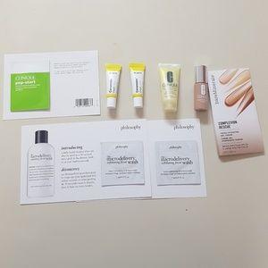 x8 New Skin Care bare minerals et al Sample Bundle